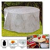 DI-GARD® (282) Schutzhülle Abdeckung Hülle für Tisch Gartentisch Abdeckhaube 160x95x