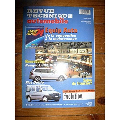 RTA0643 - REVUE TECHNIQUE AUTOMOBILE EVOLUTION Ford Mondeo Essence 1998-2000
