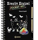 Kreativ-Kratzel Pocket Art: Gruselspaß (Kreativ-Kratzelbuch)
