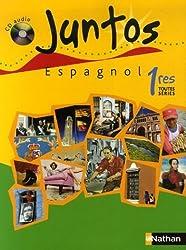 Espagnol 1e toutes séries Juntos (1CD audio)