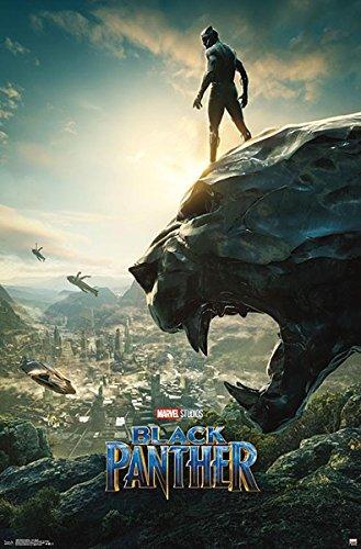 Close Up Póster Marvel Black Panther - One Sheet
