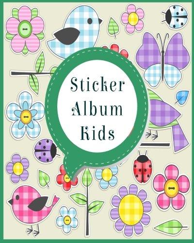 Blank Sticker Book, 8 x 10, 64 Pages (Sticker Album)