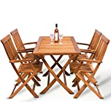 Wooden Garden Furniture Set Patio Dining Table - Best Reviews Guide
