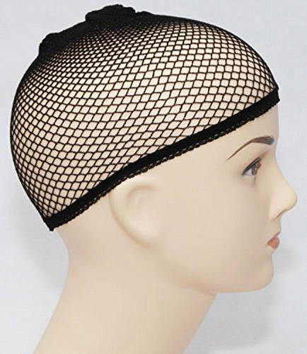 ewinever(TM) 2pcs Wig Cap Haarnetz-Abdeckung Halloween-Kostüm-erwachsene Damen Herren Kinder Kinder (Erwachsene Kostüme Für Neue)