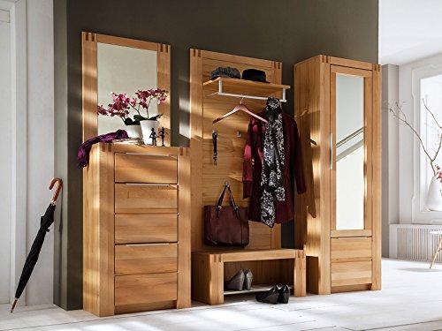 Garderobe komplett Set Garderobe Hängegarderobe Wandgarderobe Flur