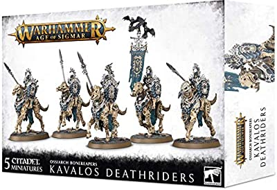 Games Workshop Kavalos Deathriders - Ossiarch Bonereapers - 94-27 - Warhammer Age of Sigmar