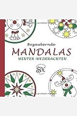 Bezaubernde Mandalas: Winter-Weihnachten Spiralbindung