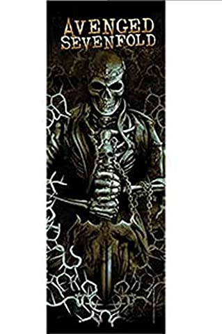 Avenged Sevenfold Hail to the king Official Textile Door Poster 53cm x 150cm