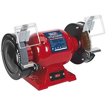 Draper 14271 150 Mm 230 Volt 370 Watt Bench Grinder With