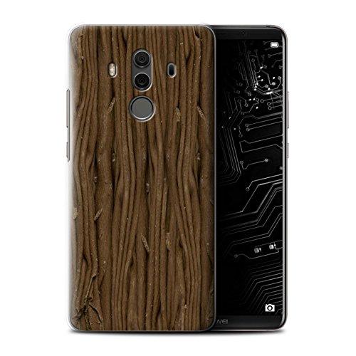 Stuff4® Hülle/Case für Huawei Mate 10 Pro/Flocke Muster/Schokolade Kollektion (Flocken Essen)