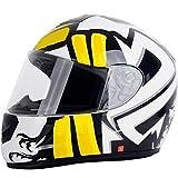 QSBY Warme Windschutzscheibe Volltisch Motorradhelm explosionssicher langlebigen Motorradhelm Outdoor Sportpersönlichkeit Mode cool Universal Helm,M