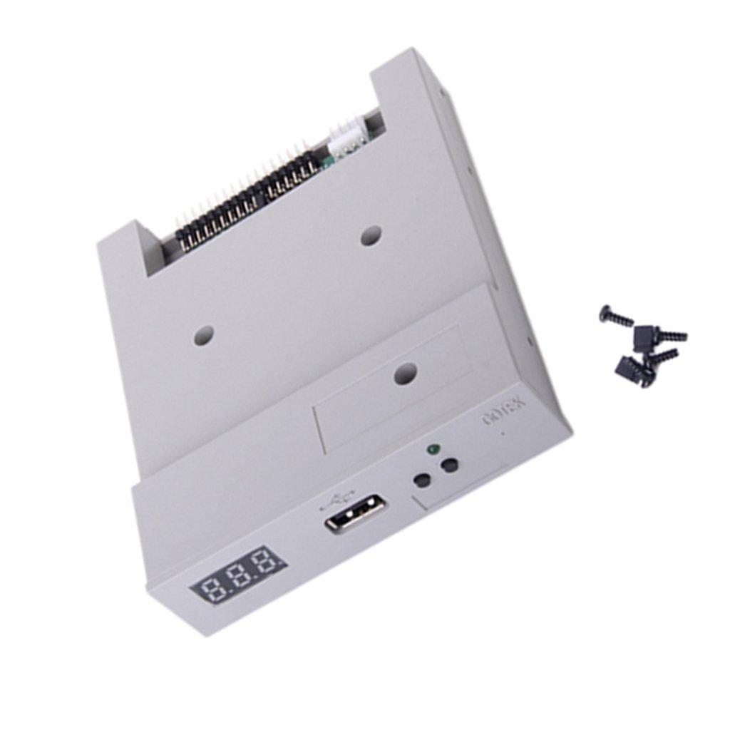 SFR1M44-U100 - Emulatore drive per floppy disk con porta USB, versione aggiornata, colore: Grigio