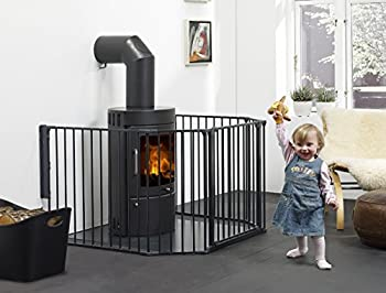 BabyDan Barrière Flex Médium Noir