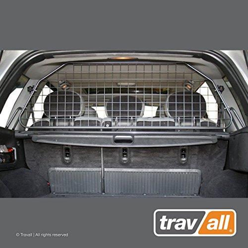 Travall® Guard Hundegitter TDG1154 - Maßgeschneidertes Trenngitter in Original Qualität