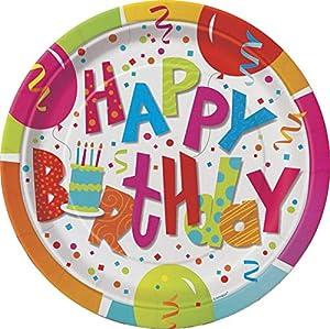 Partido Ênico 23 cm Platos Cumpleaños Party Jamboree (paquete de 8)