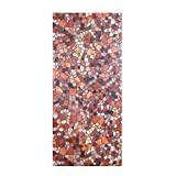45x100cm 2017 New Cobblestone Embossed Stained Window Glass Film Privacy Protection window film decorative Red