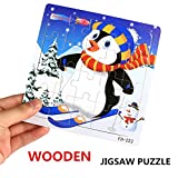 Wooden Puzzle, Clearance Sale! Yaohxu Educational Developmental Baby Kids Training Toy Christmas Gifts for Baby Boys Girls