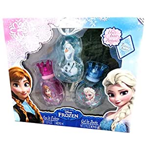 Reine des Neiges [M4237] - Coffret 2 parfums 'Frozen - Reine des Neiges' rose bleu (30 ml)