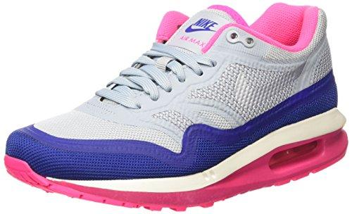 Nike Air Max Lunar1, Chaussures de running femme Multicolore (Lt Mgnt Grey/Pr Pltnm-Hypr Pnk)