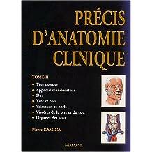 Précis d'anatomie clinique : Tome 2