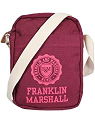 Franklin & Marshall small shoulder Bag Bordeaux Solid