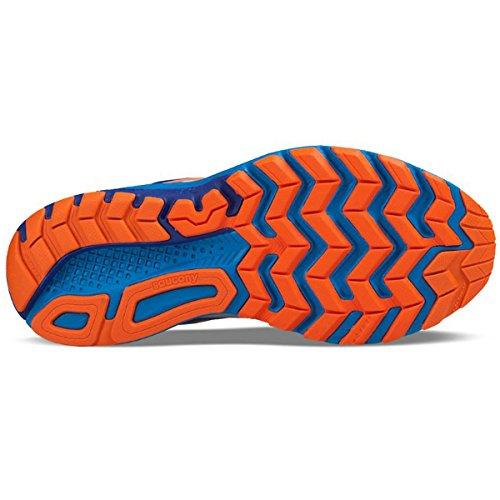 Saucony Ride 9, Chaussures de Running Compétition Homme Bleu (Wht/blu/org)