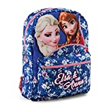 Karactermania Frozen Zipper Mochila infantil reversible, 40 cm, Multicolor