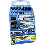 ROTA CRAFT Rotary Tool Accessory Kit for Dremel etc (400pc) [Misc.]