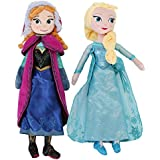 TKOOFN Frozen Ice Queen princesa Elsa + Anna Muñeca - El mejor regalo para la Navidad, cumpleaños (40CM, Elsa+Anna) - T02001