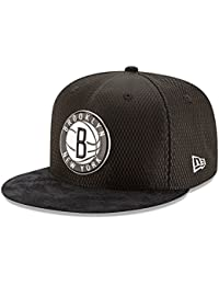 New Era NBA BROOKLYN NETS 2017 Authentic On-Court 9FIFTY Snapback Cap