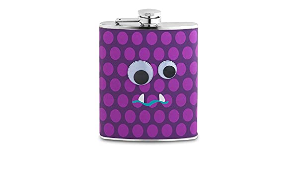 7-Ounce Epic Products 3.75-Inch Googly Eye Garf Flask