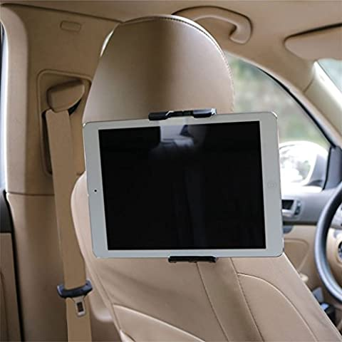 KFZ-Kopfstützen Tablet Halterung,Topist Universal-Auto-Kopfstütze Halterung Rücksitz Kopfstütze Halterung Einstellbare Halter Für 4 - 12 Zoll Smartphone & Tablet - Apple iPad,iPad Pro 9.7