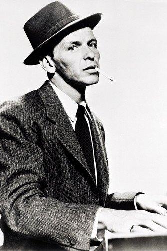 Moviestore Frank Sinatra als Barney Sloan in Young at Heart 91x60cm Schwarzweiß-Posterdruck (Frank Von Barney Frank)