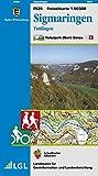 Sigmaringen, Tuttlingen: Karte des Schwäbischen Albvereins (Freizeitkarten 1:50000) -