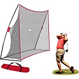 10x7ft Haack Golf Net | Practice Driving Indoor And Outdoor | Golfing At Home Swing Training Aids W/ Carrying Bag