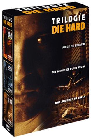 Coffret Die Hard 3 DVD - La Trilogie : Piège de cristal / 58 minutes pour vivre / Une journée en