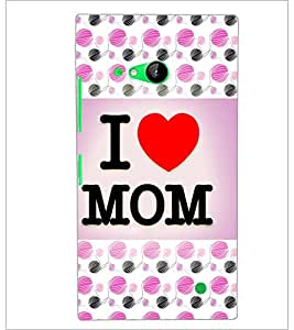 PrintDhaba Quote D-3856 Back Case Cover for NOKIA LUMIA 730 (Multi-Coloured)