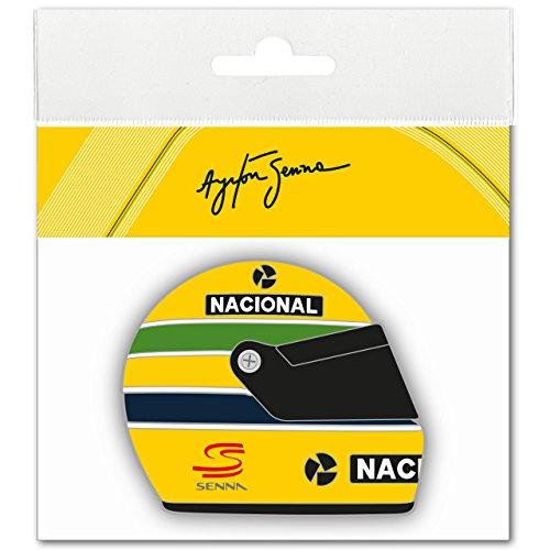 3d-epoxy (Ayrton Senna Aufkleber Helmet 1990 3D EPOXY)