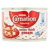 Carnation Extra Thick Cream Topping 170 g (Pack of 12)