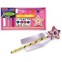 Melissa & Doug 13335 Crea La Tua Bacchetta Magica Giochi Creativi Per Bambini