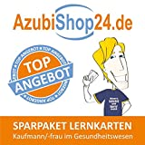 Spar-Paket Lernkarten Kaufmann / Kauffrau im Gesundheitswesen: Prüfungsvorbereitung auf die Abschlussprüfung zum Sparpreis