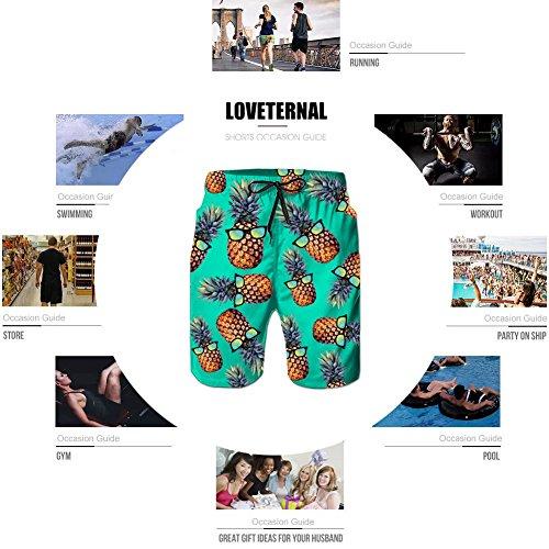 Zoom IMG-2 loveternal pantaloncini da surf uomo