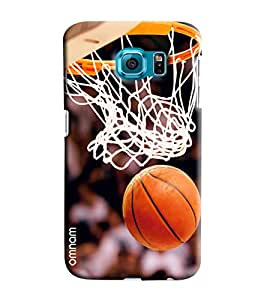 Omnam Basket Ball Net Printed Designer Back Cover Case For Samsung Galaxy S7