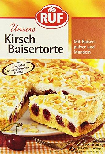 RUF Kirsch Baisertorte, 4er Pack (4 x 350 g) - Bäcker Kirsche