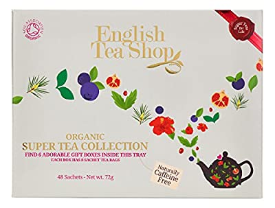English Tea Shop Sélection Super-Fruits 48 Sachets d'Infusions/de Rooibos Bio 96 g