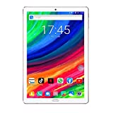 Tablet 10 Pollici Android 9.0 WIFI 4GB RAM 64GB ROM 8000 mAh Processore Quad Core 4G LTE Tablet PC con Ricarica Rapida Type-C Cavo Bluetooth GPS - Oro