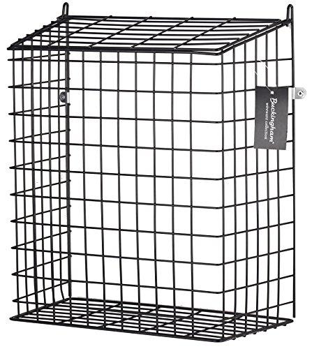 Käfig Fronten (Buckingham 30052Front Tür Buchstabe Käfig, Guard, Korb, Mail-Catcher, Post Box, Briefkasten, vormontiert, schwarz)