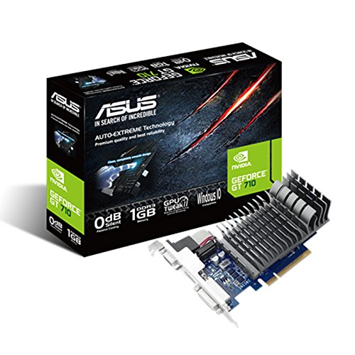 Asus 710-1-SL NVIDIA Gt 710 1 GB Passive Cooling Pci-E Graphics Card