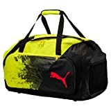 PUMA Liga M Tasche, Fizzy Yellow/Puma Black/Red Blast, 58x33x3.5 cm