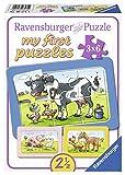 Ravensburger 06571 Gute Tierfreunde, My First Puzzles 3 x 6 cm -